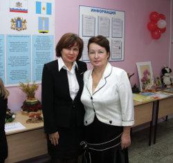 Алсу Айзатуллина и Людмила Пронина